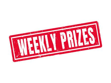 weekly prizes