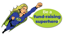 Fund raising superhero