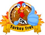 NOVEMBER Turkey Trot Thanksgiving Day maintains its top spot as the sport's most popular day of the year to race!